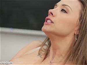 My ultra-kinky bang-out teacher Chanel Preston ravages me in the classroom