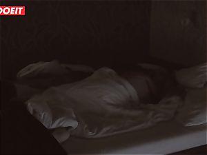 Russian stunner gets pro fuckfest to help her sleep