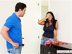 super buxom milf Ava Addams rails his knob into oblivion