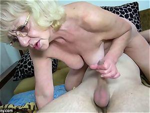 senior grandma got stripped and fucked xxx way
