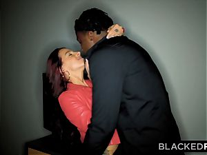 BLACKEDRAW Evelin Stone Will Do ANYTHING For Her big black cock father