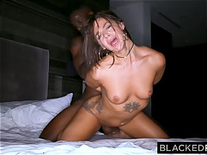 BLACKEDRAW youthful wife is now addicted to dark-hued bulls