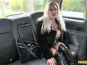 faux cab pornographic star makes debut in london taxi