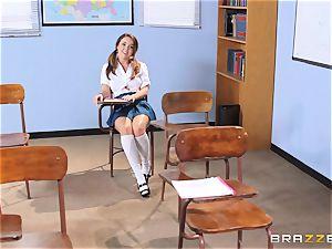 Darling schoolgirl Dillion Harper gets banged by her lecturer