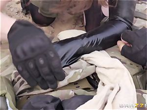 metal Gear Solid five anal porn parody with kinky brown-haired Casey Calvert