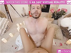 VR pornography - Thanksgiving Dinner becomes kinky ravaging
