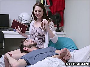 super hot fucky-fucky with a ultra-kinky red-haired stepsister