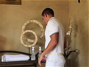 special Nina Elle massage and stellar extras