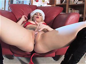 Bailey Blue is Santa's horny lil' hel