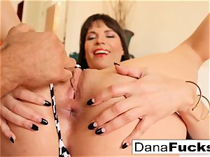 gash worship and tonguing of Dana DeArmond's raw crevice