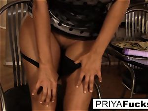 Priya makes herself all steaming and bothered