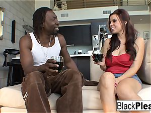 yam-sized titted Rachel lets a bbc cum inside her