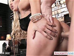 erotic Cameron Dee take boner