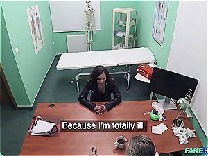 Hidden cam intercourse in the doctors office