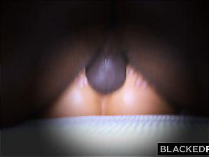 BLACKEDRAW wifey enjoys his gigantic black penis a lil' too much