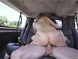 Bailey Brooke humped on the Bangbus