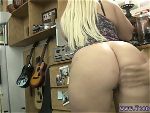 lush fat all-natural funbags platinum-blonde and lil' nubile bootie Make that money!