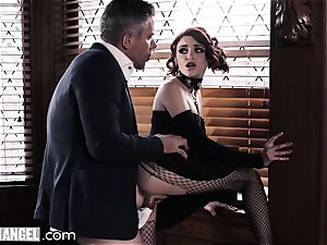 emo stroking In Detention is anally disciplined