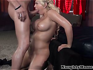 big-titted masseuse takes care of her customer