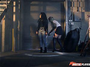 Sienna Day and Rina Ellis pearl vag slurping super-fucking-hot act