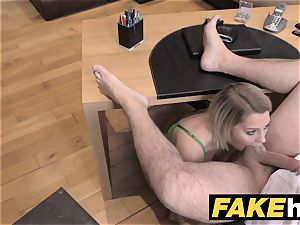 faux Agent UK puny minx gets fast rectal ravaging