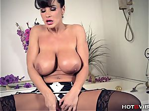 enormous, Soapy funbags cougar Lisa Ann