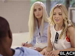BLACKED Naomi forest and Karla Kush first-ever interracial three-way