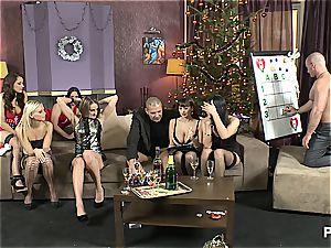 The bang-out Game before Christmas gig 1