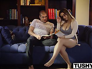 TUSHY very first ass fucking For curvy Natasha uber-cute