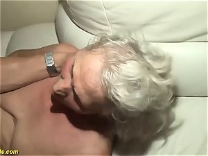 75 years older grannie first-ever porno flick