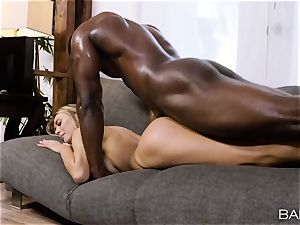 Natalia Starr cant wait to feel that big black cock deep inside her