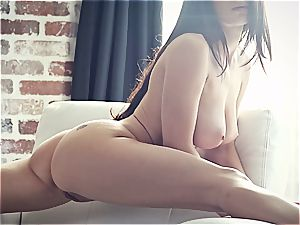 youthfull pornographic star Lana Rhoades is astounding