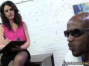 Sarah Shevon loves anal invasion hook-up with ginormous ebony trunk