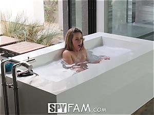 SpyFam Step step-sister Lilly Ford fucked by step brother