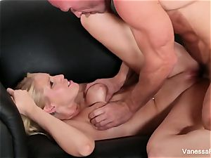 marvelous Vanessa cage gets nailed hard