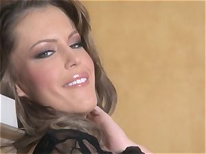 cool starlet Jenna Presley takes out her ample milk cans and demonstrates off
