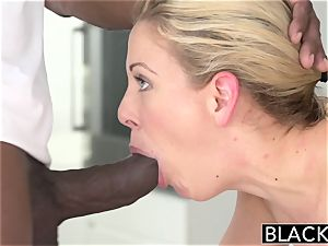 BLACKED super hot Southern light-haired Takes thick dark-hued manstick