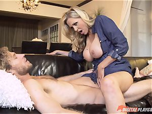 Julia Ann puss packed on mothers day