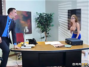 Britney Amber getting pummeled in her butt and twat