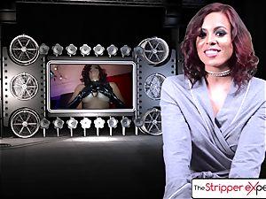 The Stripper experience - Luna starlet her wet taut honeypot