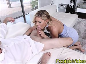 chesty babes soles nutted