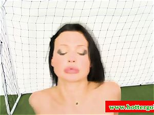 huge-titted portuguese mega-bitch romped in backdoor