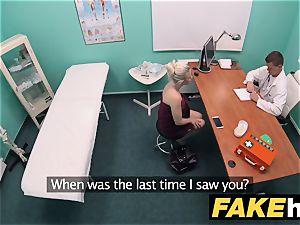 fake clinic super-naughty doc gets to smash a fresh vagina