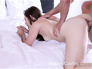 Nubiles audition - hard-core porno audition for novice