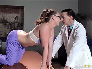 Nurse Maddy OReilly puts things right with a boinking