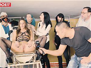 LETSDOEIT - Amirah Is manhandled at her very first bdsm soiree