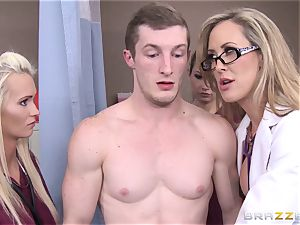 Rock firm patient gets humped by medic Brandi love