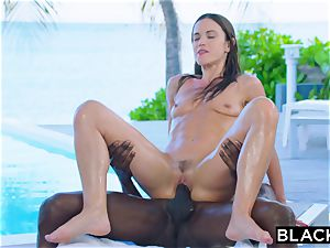 BLACKED steaming wife Cheats With big black cock on Vacation