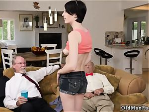 molten milf youthful spunk-pump and curly dark-haired mummy Frannkie goes down the Hersey highway