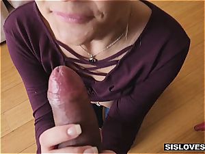 Stepsis luvs to taunt her brother when parents are not home